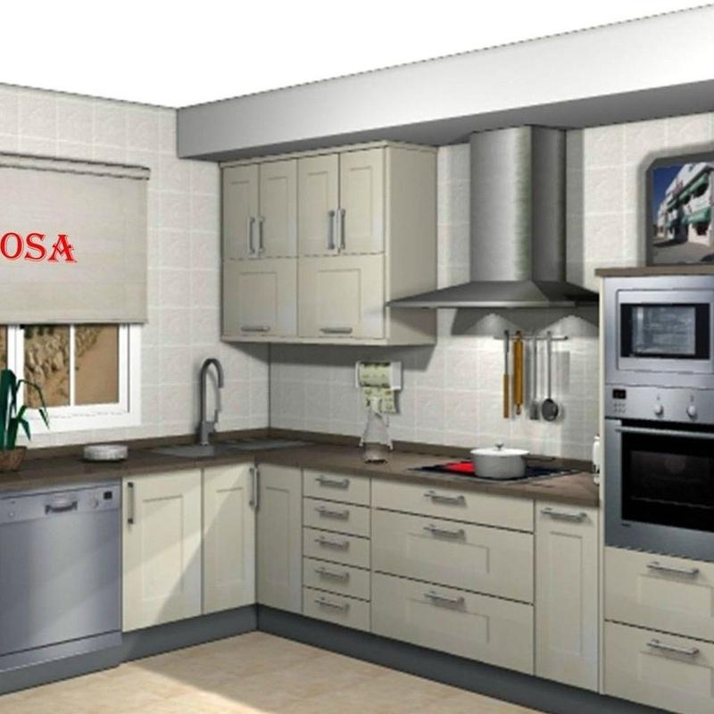 Cocinas: Mobiliario y Servicios de Muebles Sijosa