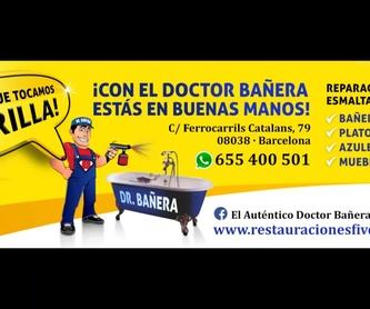 Esmaltado de encimeras: Servicios de DOCTOR BAÑERA RESTAURACIONES FIVE STARS