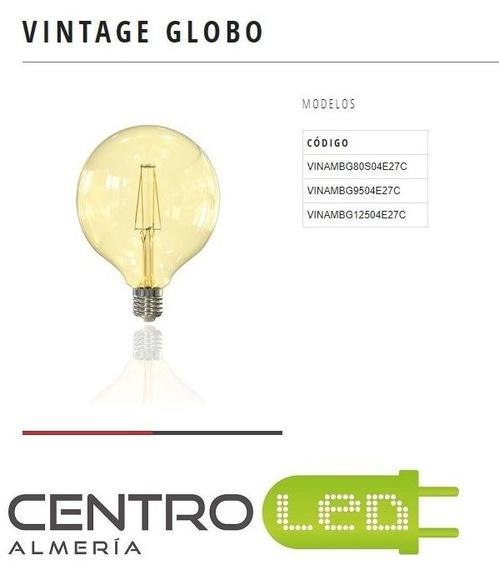Lampara globo vintage ambar: Productos de Centro Led Almería