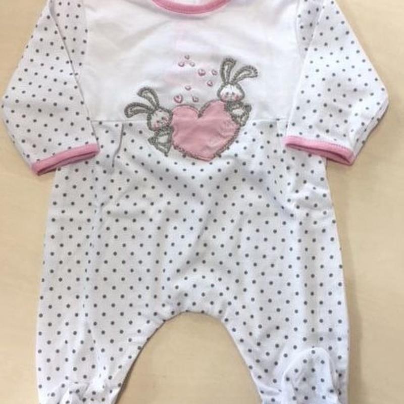 Pijama bebé 0-6 meses