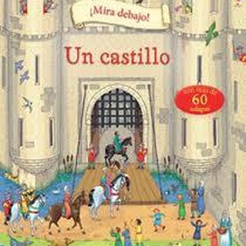 Mira debajo. Un castillo. 9,95 €-Dto.