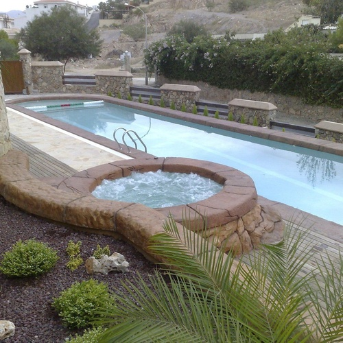 Construcción de piscinas en Murcia
