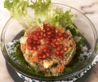 Cereales y hortalizas: Carta de Restaurante Vegetariano La Retama