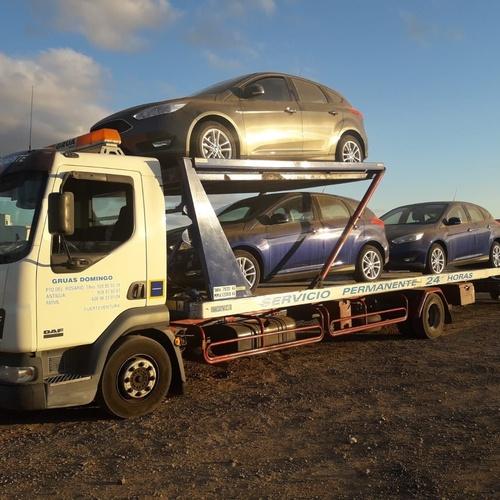 Transporte de vehículos Fuerteventura.