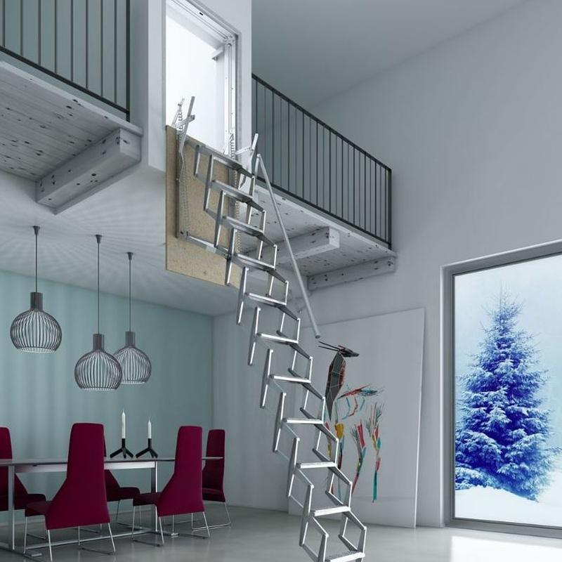Escaleras plegables de pared en Bizkaia: PRODUCTOS de CARPINTERIA MAZUSTEGUI S.L