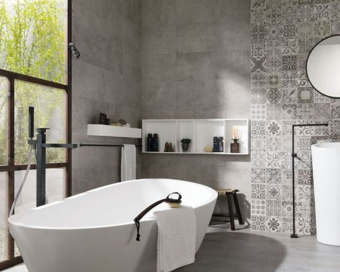 Antique Grey - Park Silver - Baño
