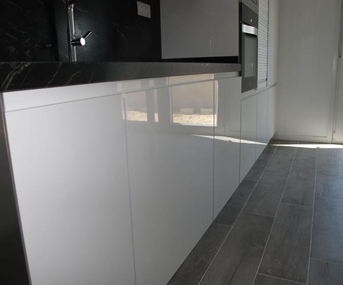 Muebles de Cocina - Proyecto realizado en Meco: PROYECTOS REALIZADOS de Diseño Cocinas MC