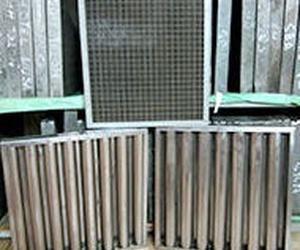 Filtros de lamas en inox o en chapa galvanizada