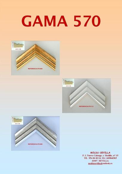 GAMA 570: Muestrario de Moldusevilla