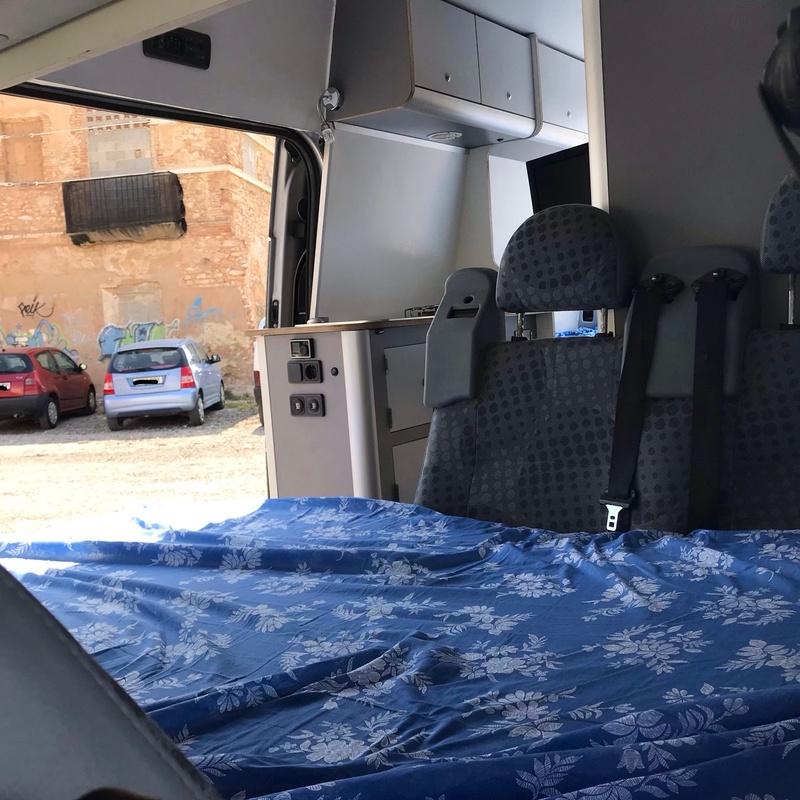 Ford Rransit de 4 plazas: Servicios de CamperIbiza