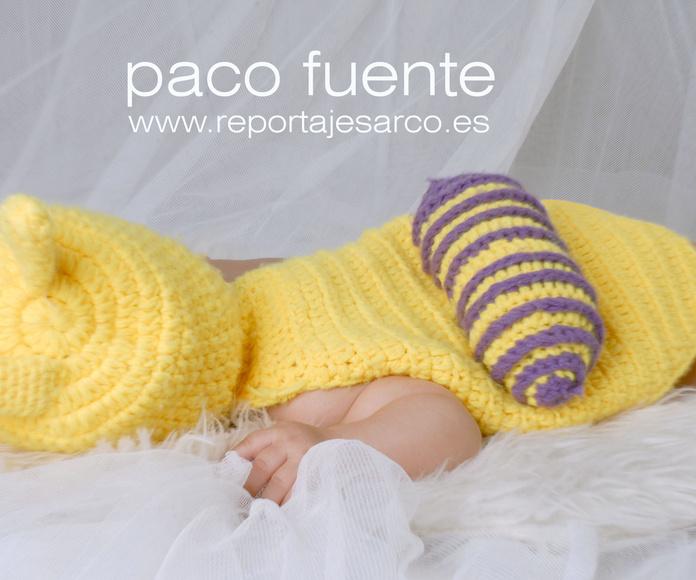 Fotografía de recién nacido en Burgos. Fotógrafo en Burgos