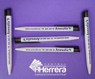 Impresos confidenciales Datamailer: Catálogo de Servicios Gráficos A.HERRERA