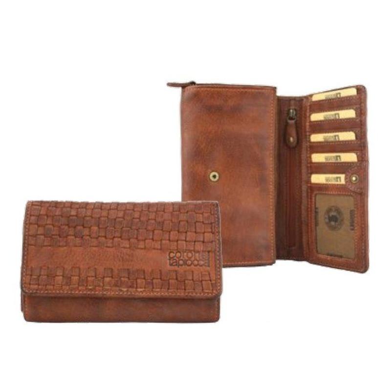 Monedero de piel marrón: Productos de Zapatería Ideal
