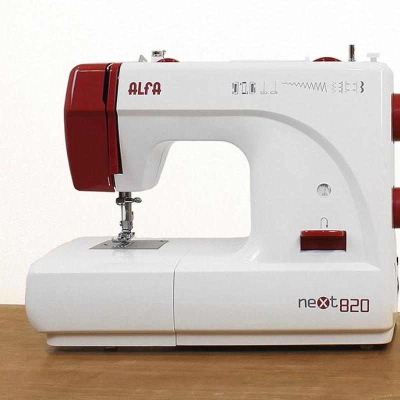 Alfa Next 820: Productos de Maquinas de Coser - Servicio técnico y repuestos