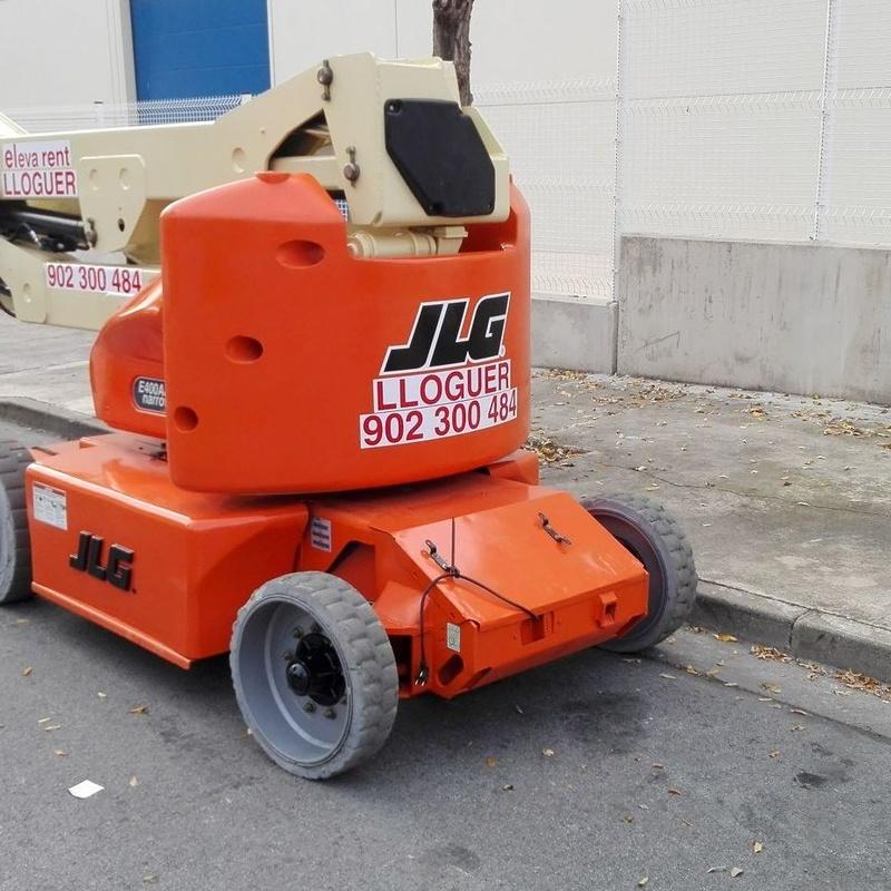 JLG E400AJPN: Catálogo de Eleva Rent