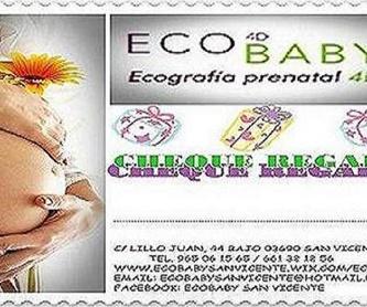 PROMOCION ECO 5D+SESION DE FOTOS EMBARAZO : Servicios  de ECOBABY 4D/5D  Tel.  661 32 12 56