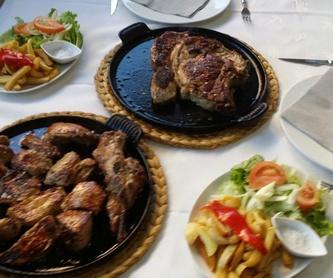 Ensaladas: Carta de Restaurante El Pisón