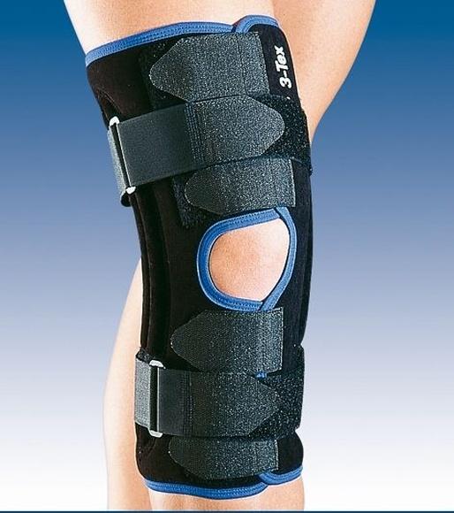 Rodillera abierta con refuerzos laterales flexibles: PRODUCTOS de Ortopedia J. Ribas