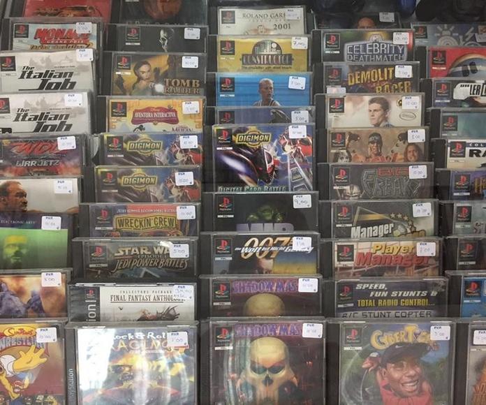 Venta de videojuegos y videoconsolas: Productos y servicios de Moongames