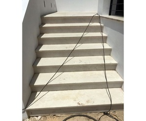 Escaleras de mármol en Málaga