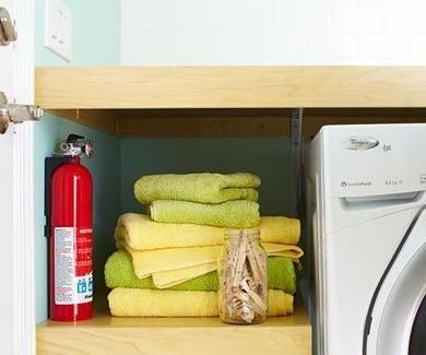 Extintor en el hogar: donde colocarlo?