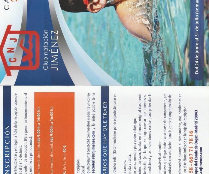 CAMPAMENTO VERANO 2019: Nuestras actividades de Club Natación Jiménez