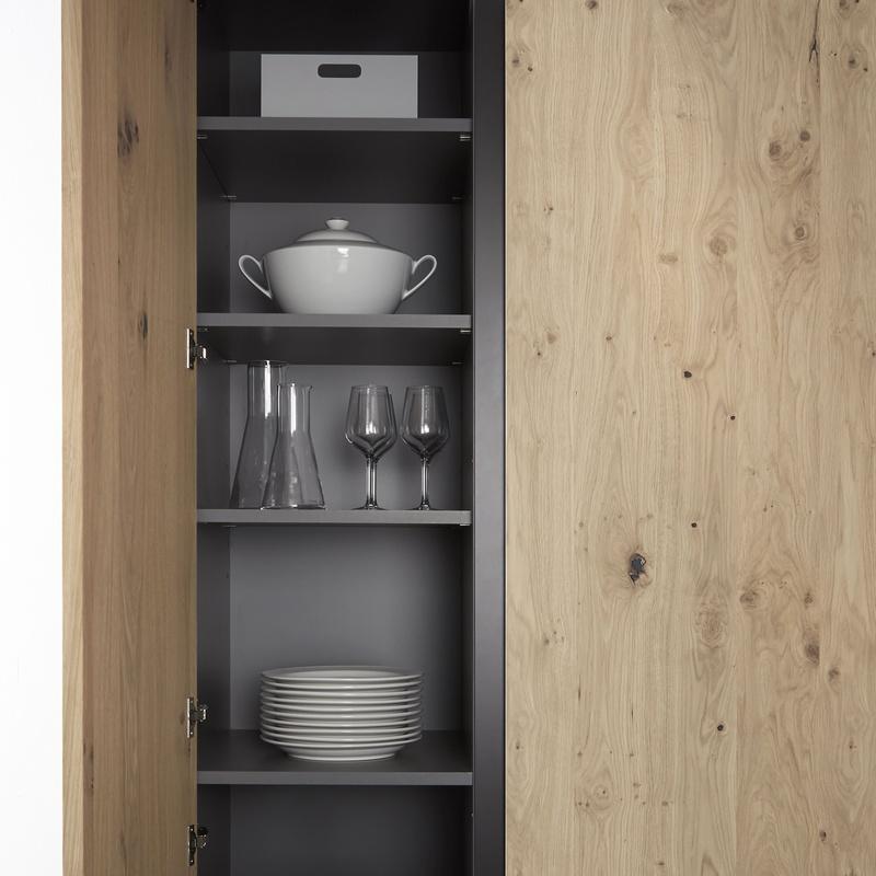 Serie 90 - Roble rústico: Catálogo de Estudio de cocinas y baños Jana