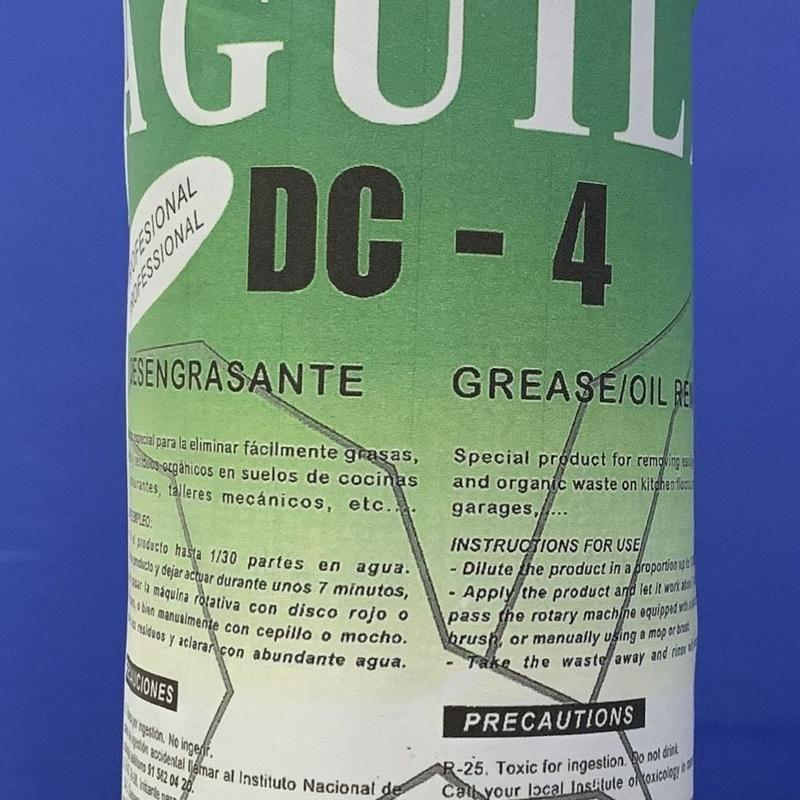 DESENGRASANTE AGUILA DC-4 5L.: SERVICIOS  Y PRODUCTOS de Neteges Louzado, S.L.