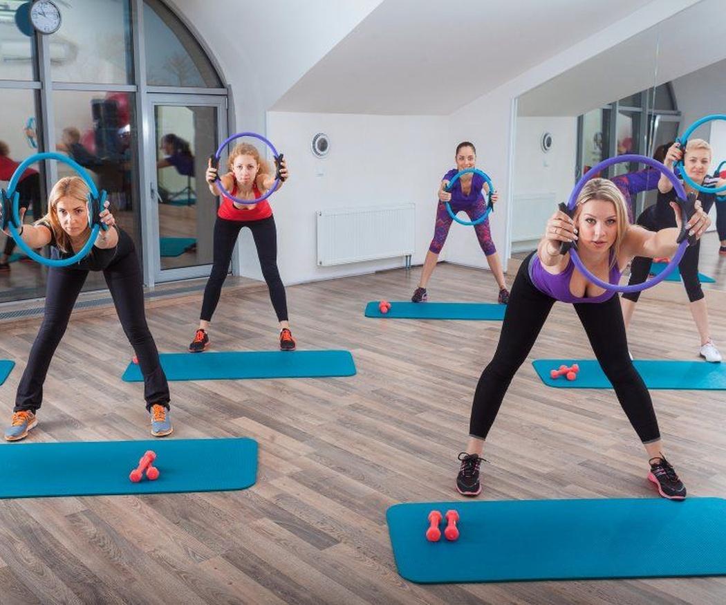 El fitness y el pilates para estar en forma