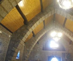 Revestimiento de techo en madera