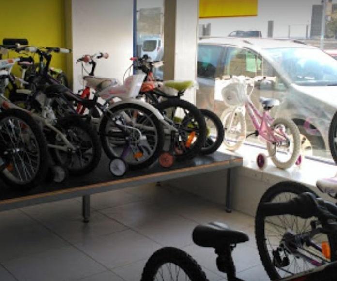 Bicicletas niños Pamplona