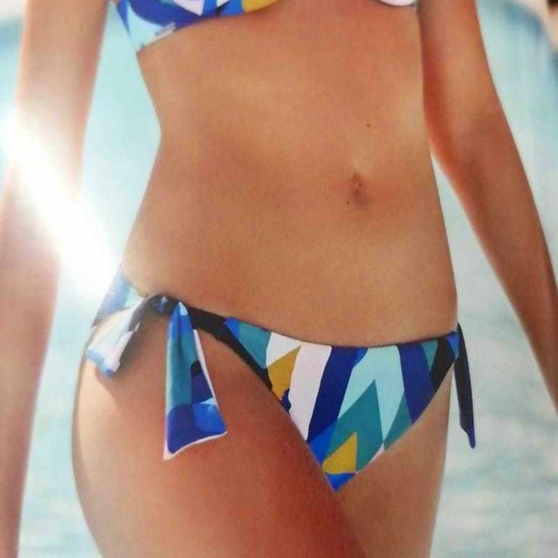 Bikini estampado geométrico