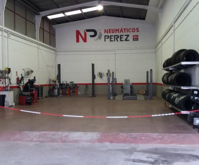 Mecánica rápida: Servicios de Neumáticos Pérez