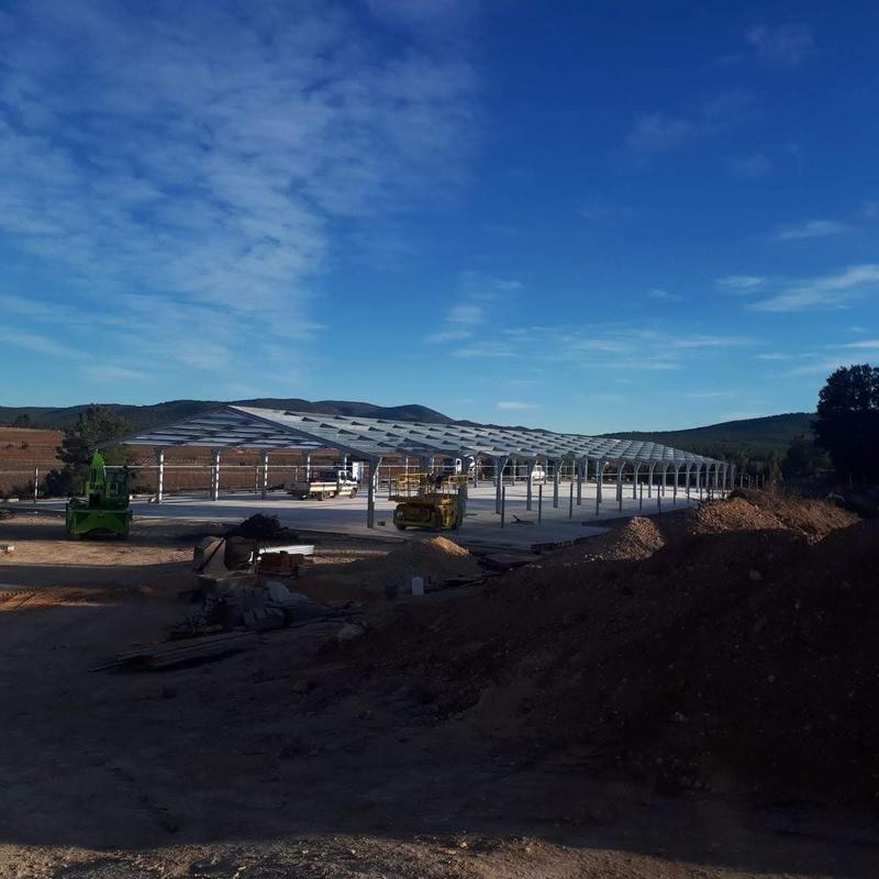 Nave en Sinarcas (Valencia): Servicios de Servicios Inoxidables Albacete