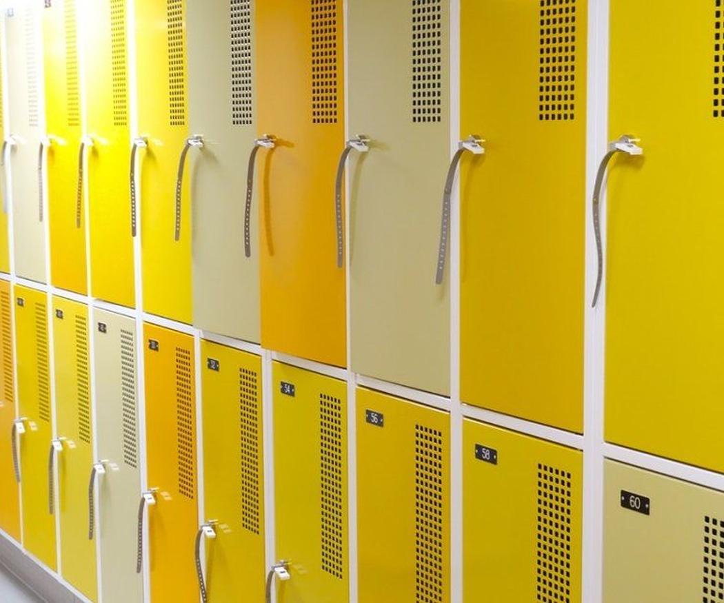 Los armarios de aluminio
