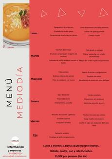 Restaurante Somallao Rivas Menú de la semana 10 al 14 de Mayo de 2021