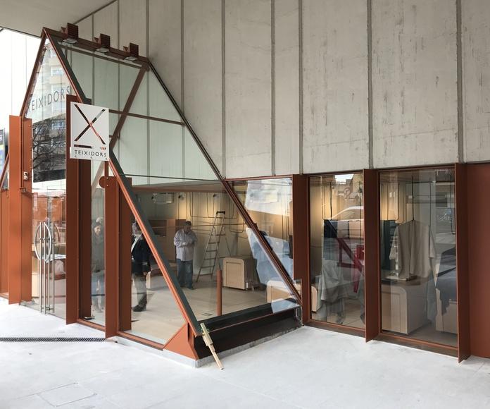 Instalaciones de cristal: Productos y servicios de Tancaments Cusidó