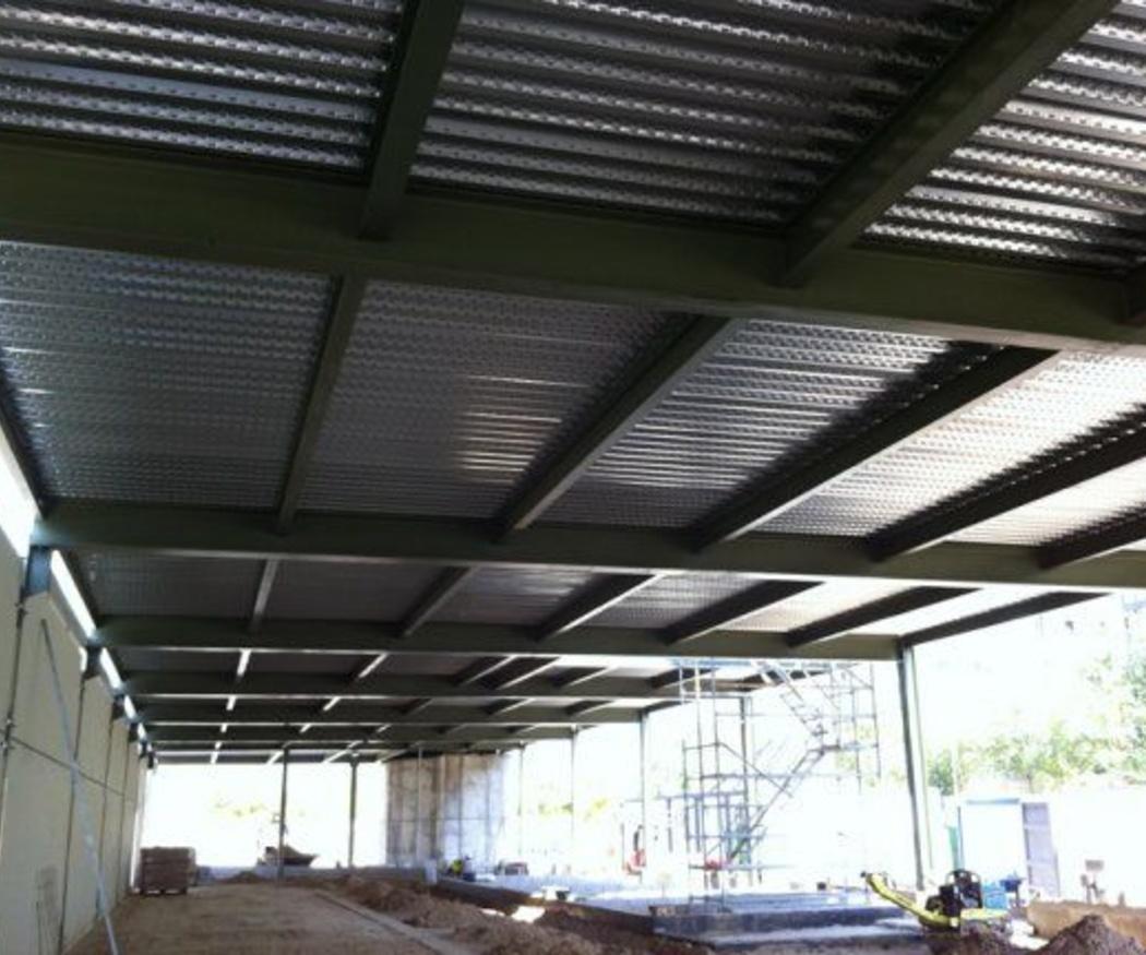 Métodos de protección pasiva para las estructuras metálicas