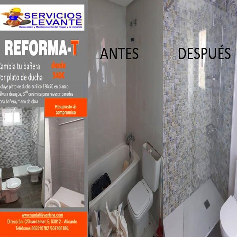 Albañilería: Servicios de SANTALI LEVANTINA