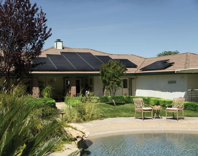 Panel solar tejado