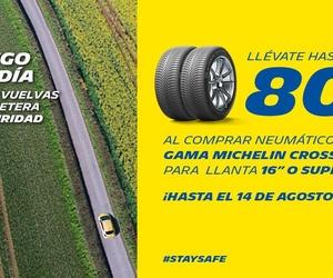 Llévate hasta 80€ por la compra de neumáticos, en Madrid