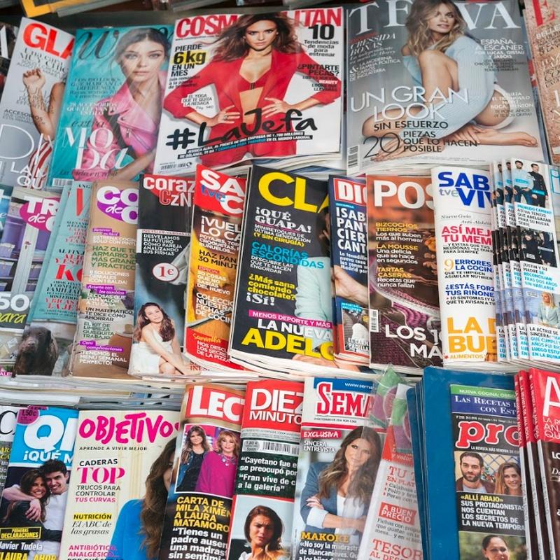 Prensa y revistas: Servicios de Estanco Eceiza