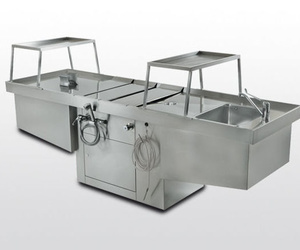 Equipos técnicos para las salas anatómicas