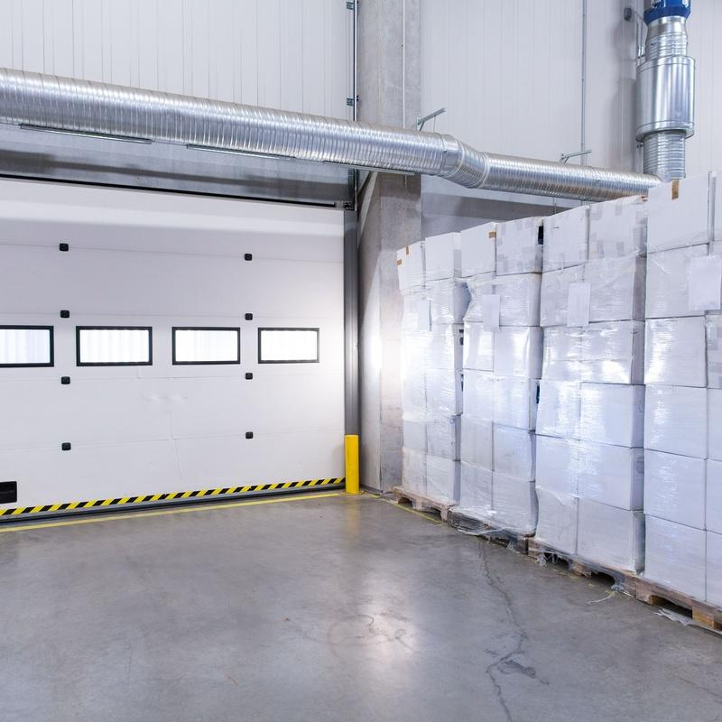 Puertas rápidas apilables de lona: Servicios de Puertas y Automatismos Emonax