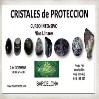 Curso intensivo: Cristales de Protección próximo domingo 02/12 de 10.30h a 14.30h