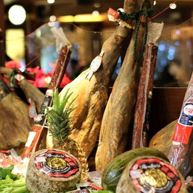 Rest. La Barca del Salamanca. Tapas frías: Menús restaurantes de Grupo Silvestre