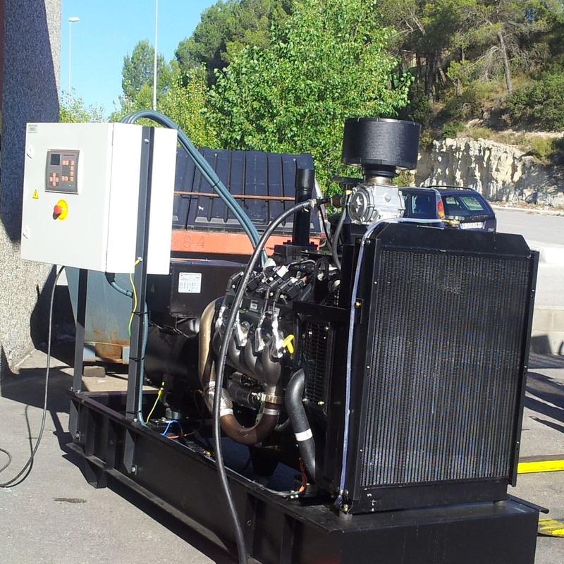 Grupos electrógenos a gas natural 100kVA
