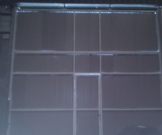 Rejas de forja, lacadas al horno.: Trabajos de Cerrajería Alberto Bautista