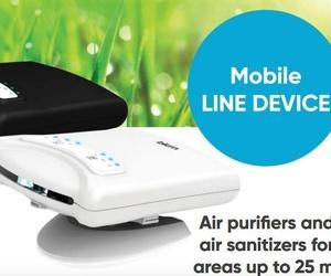 Purificador-Desinfección Aire BKM móvil Ionizador-UV