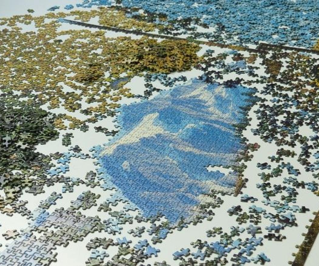 Enmarca tu puzzle y cuélgalo como un cuadro